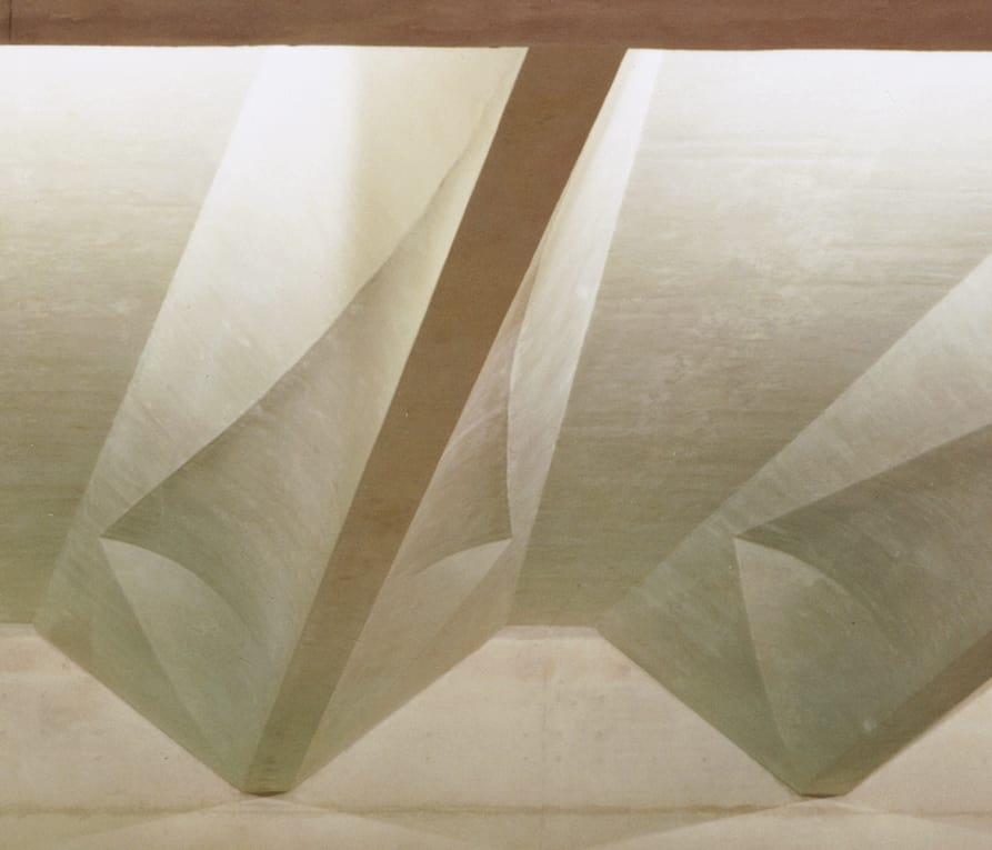 B+M Architecture - Détail sur le béton coulé