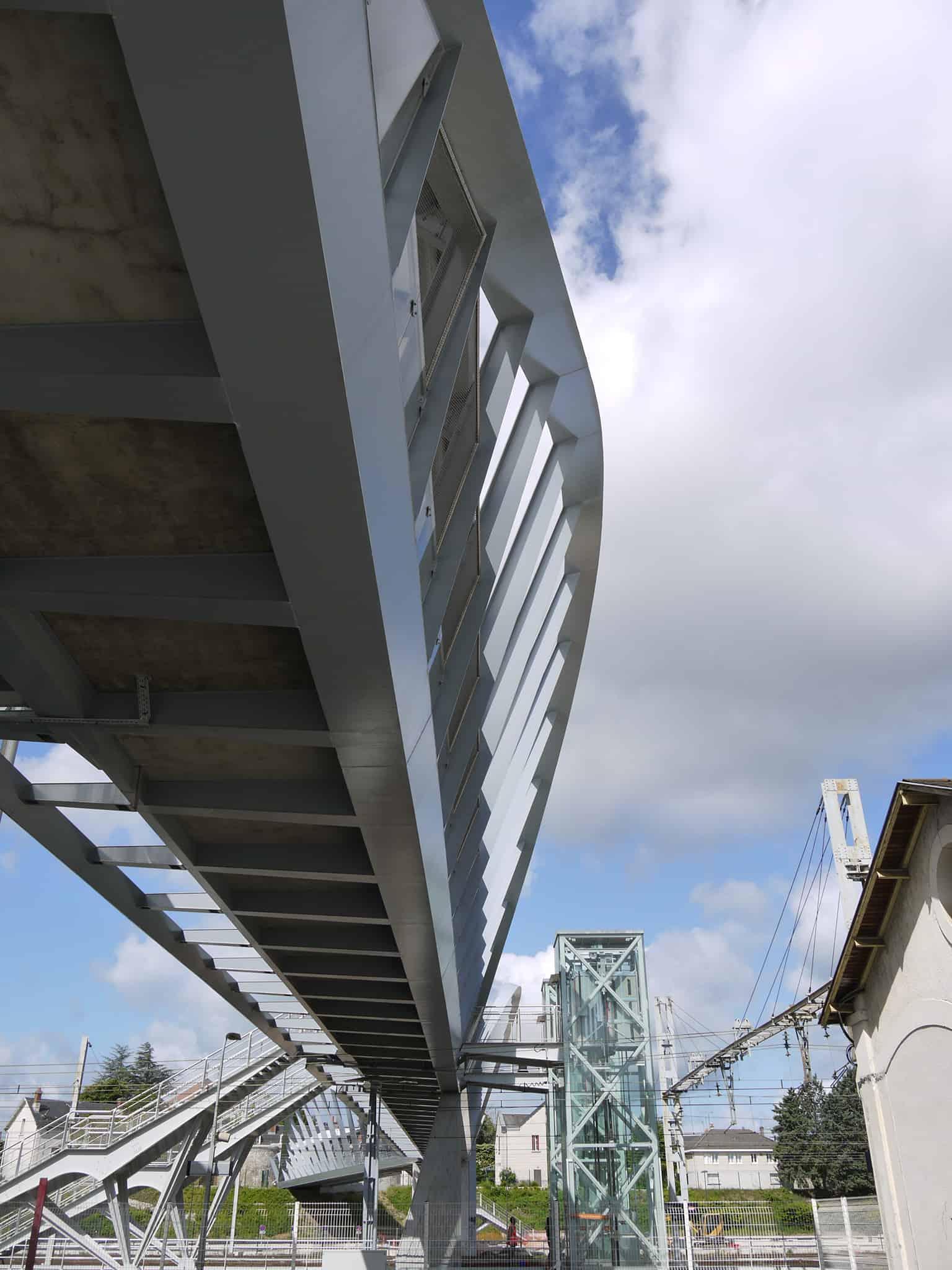 B+M Architecture - Travée de 45m
