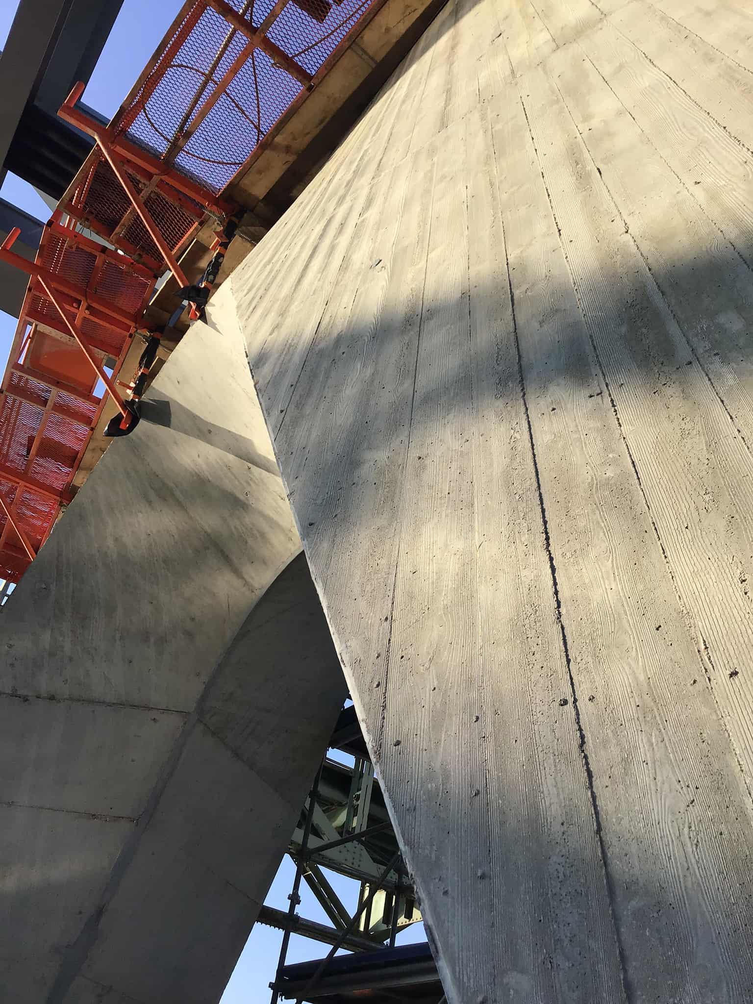 B+M Architecture - Coffrage de la pile