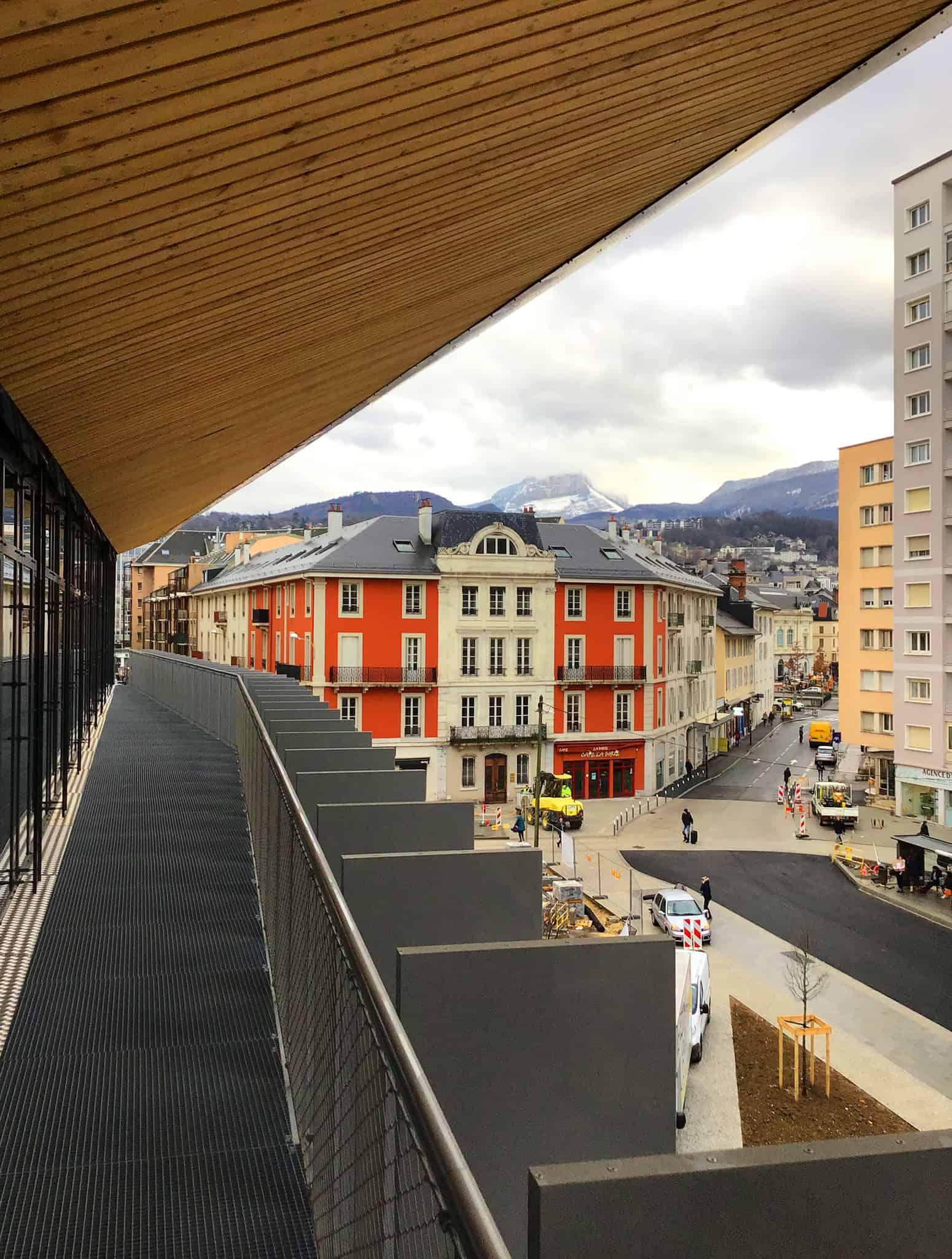 B+M Architecture - Cadrage sur la ville