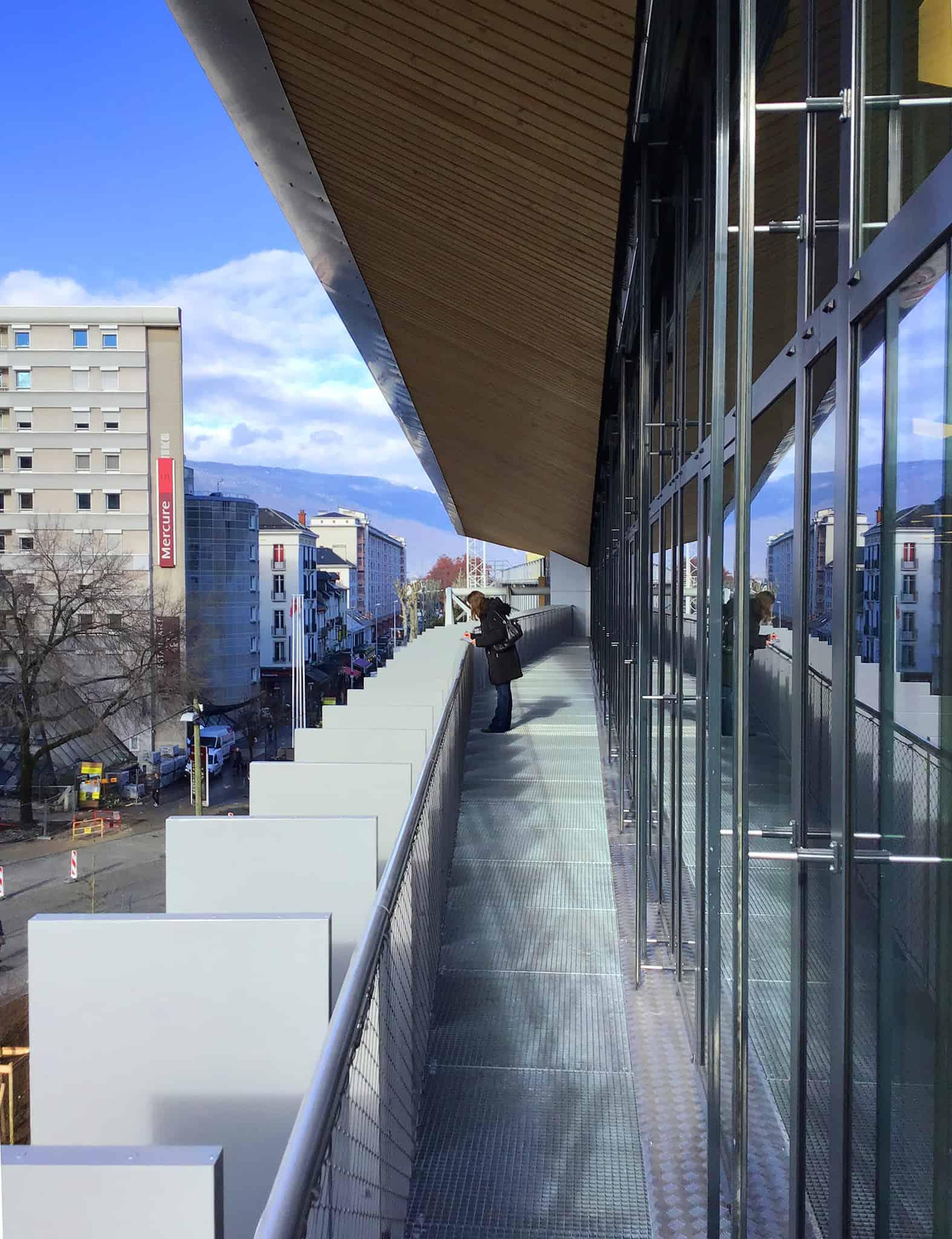 B+M Architecture - Balcon sur les Alpes