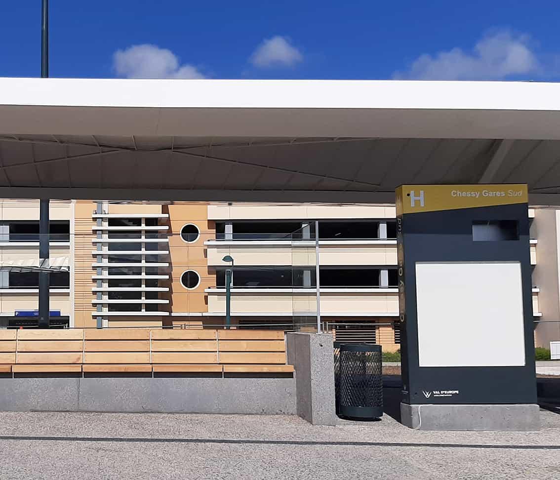 B+M Architecture - Détail sur le banc