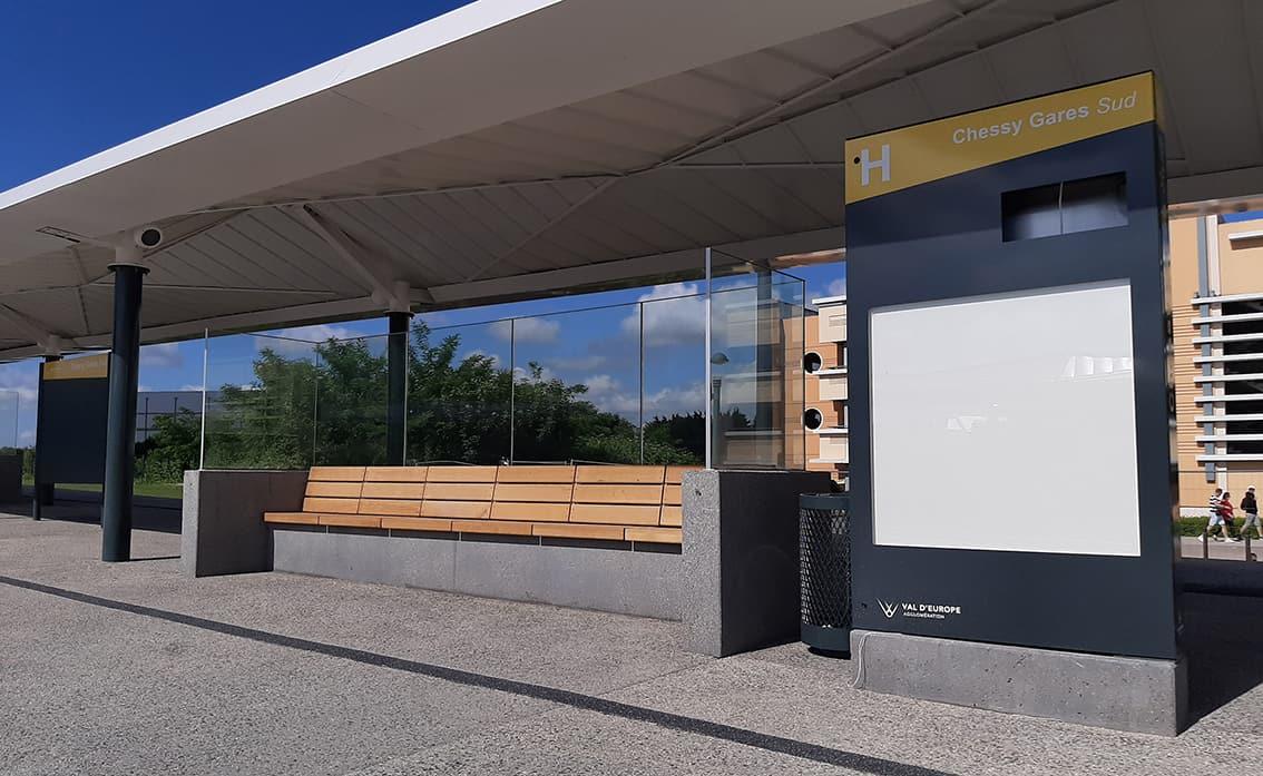 B+M Architecture - Les stations d'attente