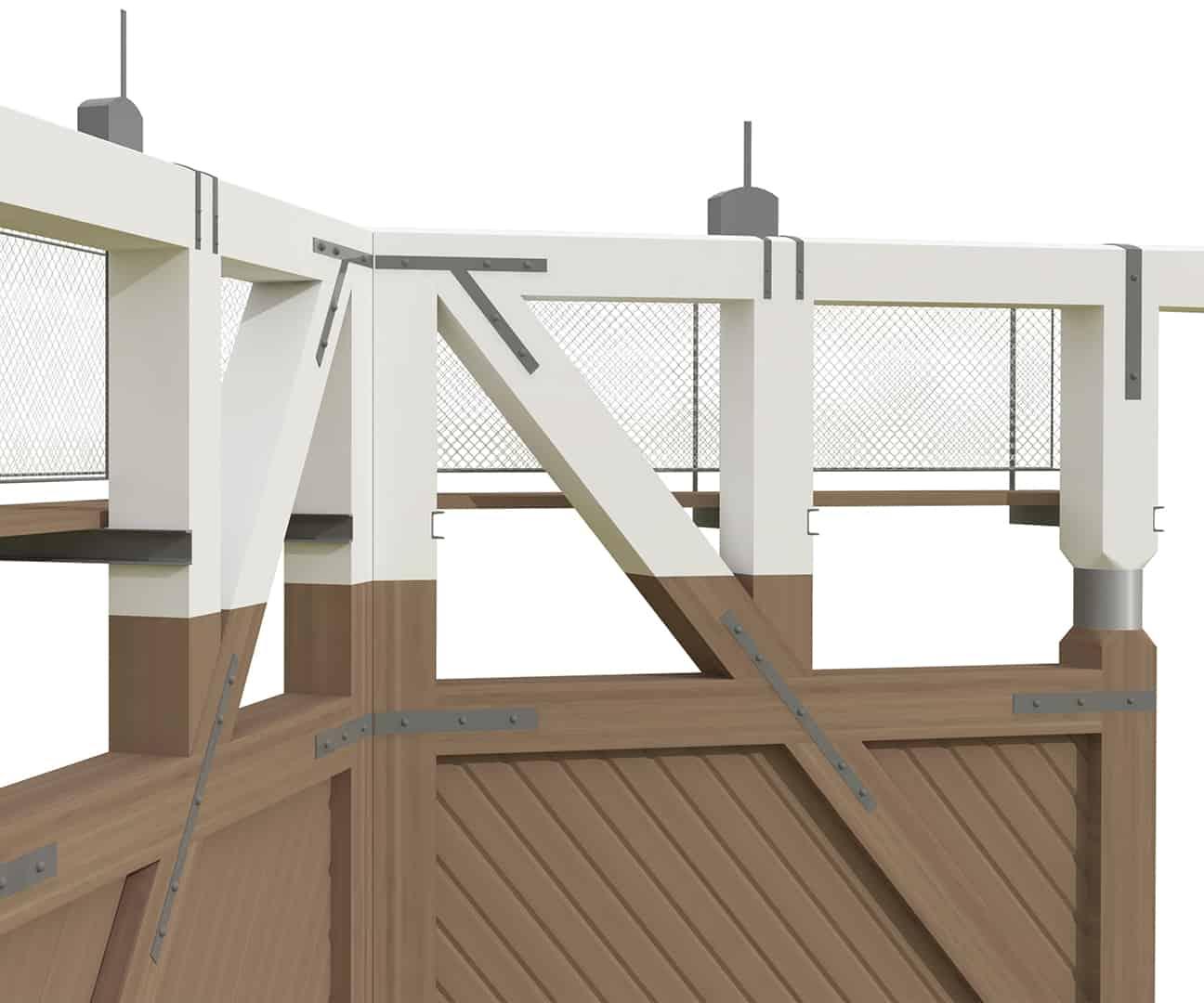 B+M Architecture - Détail sur les mécanismes de ventelle