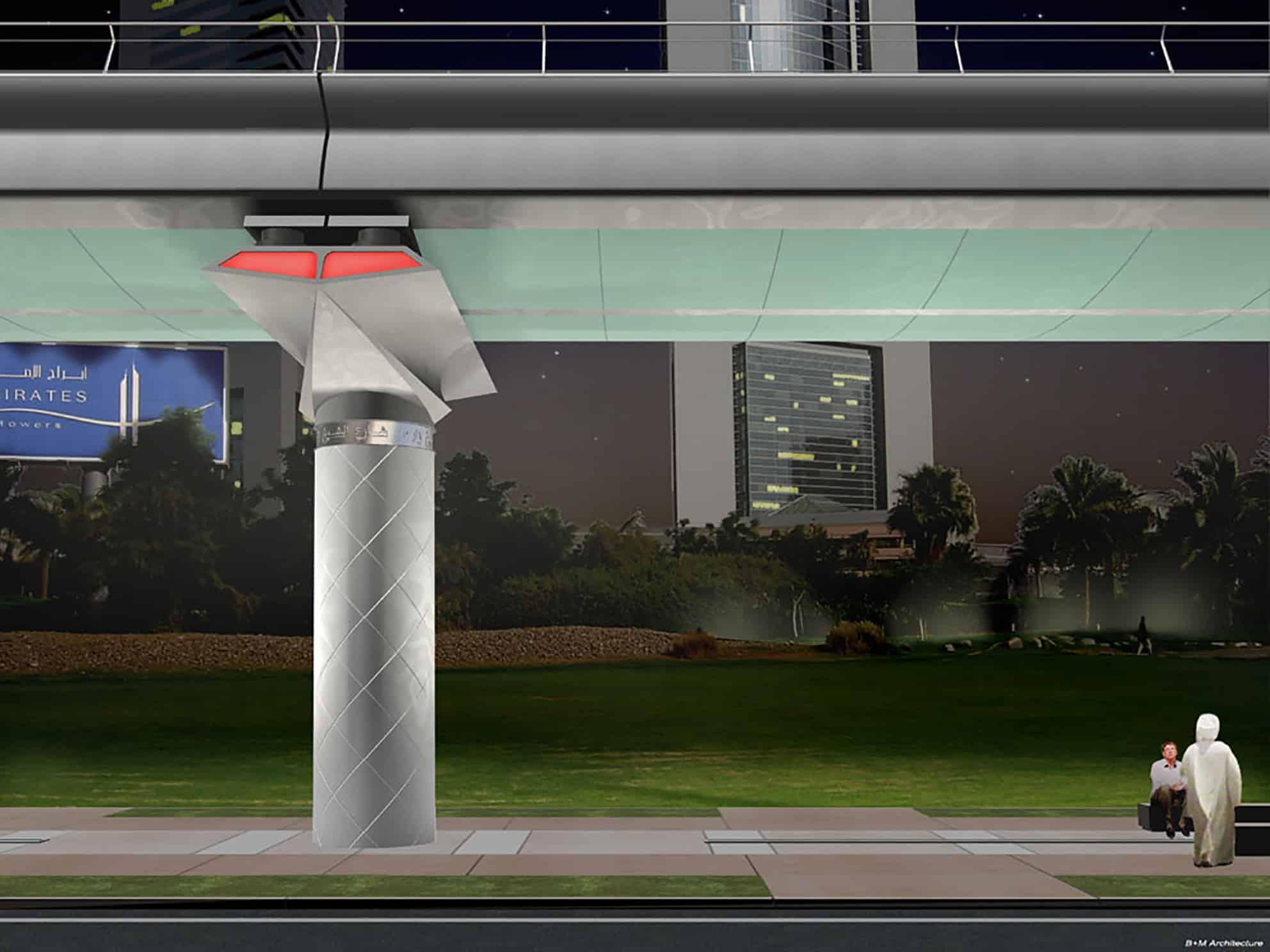 B+M Architecture - Dubai-un projet inscrit dans une une culture arabe