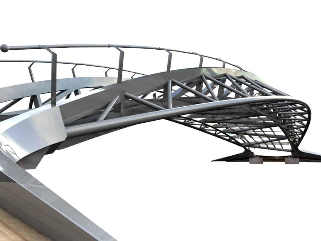 B+M Architecture - Grussian-une structure aéroprofilée