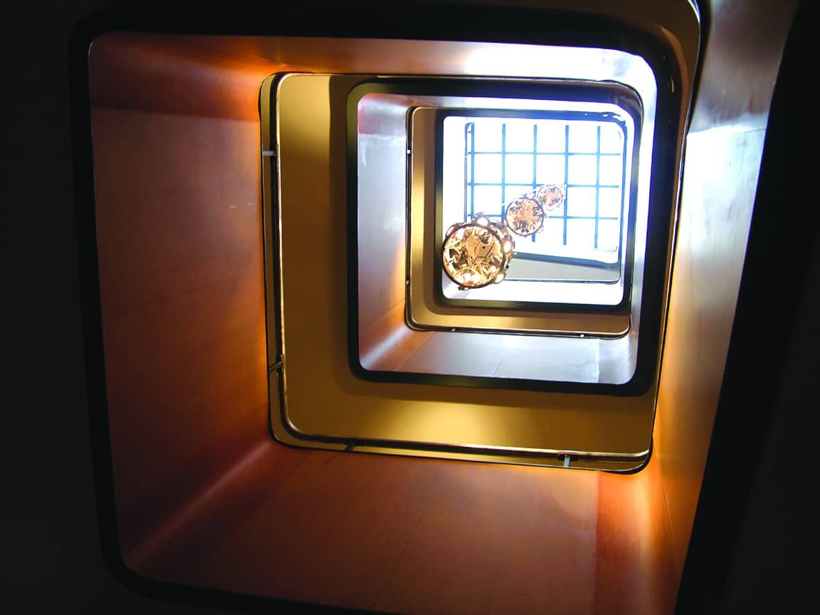 B+M Architecture - Verrière d'escalier
