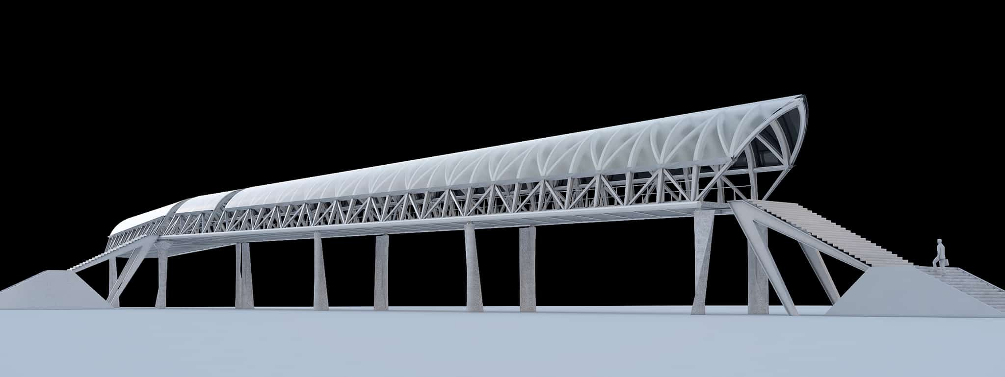 B+M Architecture - Maquette virtuelle