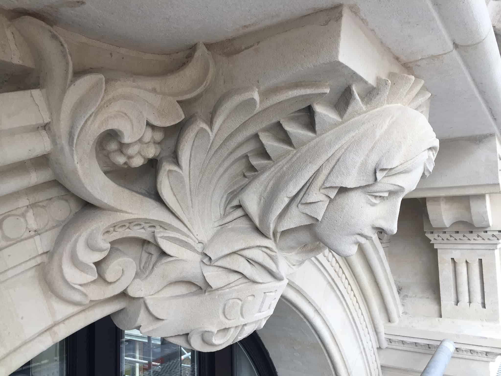 B+M Architecture - Restauration de sculpture