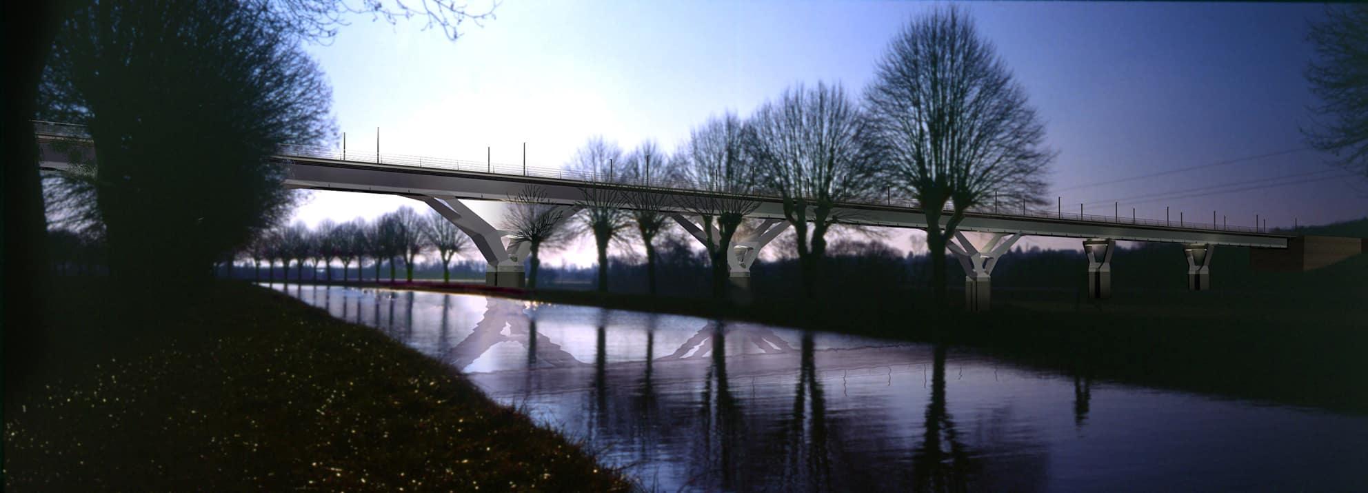B+M Architecture - Savoureuse-un viaduc inscrit dans sa vallée