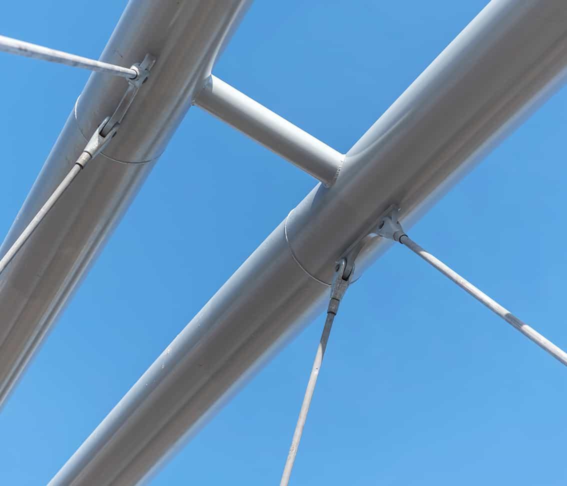 B+M Architecture - Détail de liaison des arcs