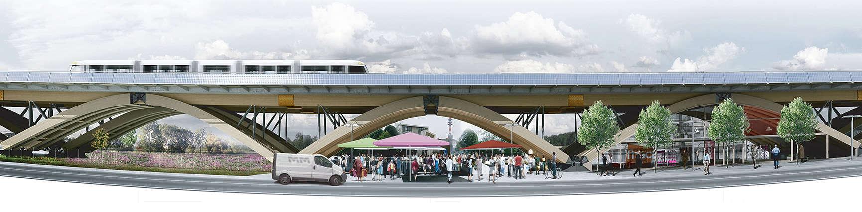 B+M Architecture - Un dispositif urbain de concertation