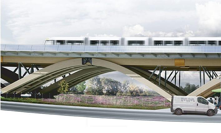 B+M Architecture - La possibilité d'un corridor écologique